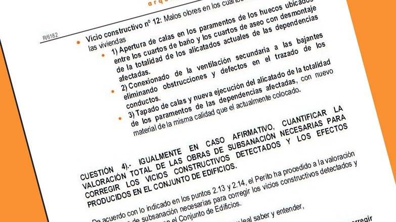 La ficha de los honorarios de los arquitectos por informes - Trabajo para arquitectos en espana ...